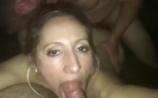 Husband shares his horny wife with best friend after night club