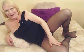 Mature Woman Pantyhose Farts