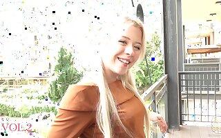 Girl from Ukraine get a creampie massage