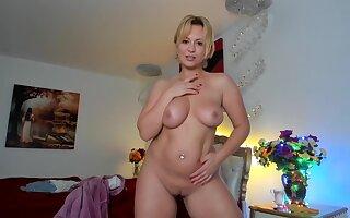 lovely blonde kira making hard cocks cum