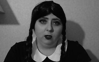 Wednesday Addams Bored JOI