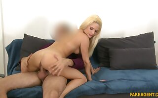 A never ending sexual experience for the tall casting babe