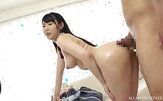 A real delight to fuck the hot Japanese stewardess