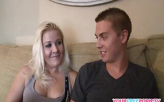 Chubby Teen Gets Wrecked Hard By Her Young Bf
