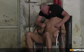 Master Sebastian Kane thoroughly dominates submissive Jak Wycombe