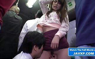 Shy Asian Teen Fucked Far Public On The Bus