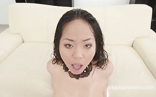 Jureka Del Mar is always in the mood to thing embrace on every side varied horny guys