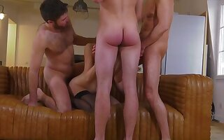 Tanya french dam very first group and mass ejaculation