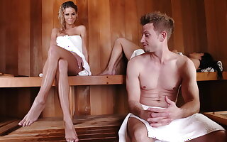 Sneaky sauna sexual congress